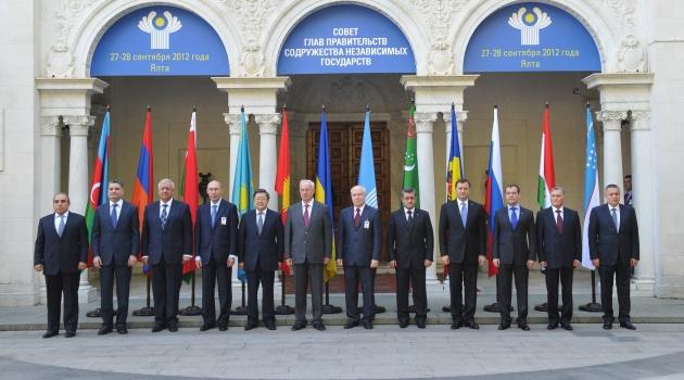 BDT Hükümet Başkanları Yalta'da toplandı