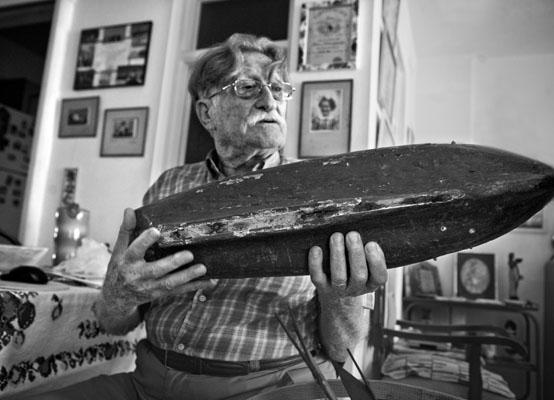 83 yaşında Büyükada âşığı bir hayat heveskârı: Viktor Albukrek
