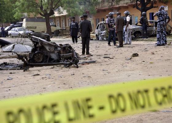 Nijerya'da okul bombalanması: En az 49 kişi öldü