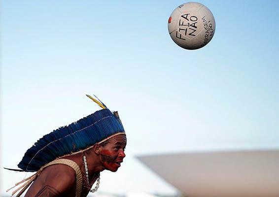 Brezilya: İsyan ve futbol