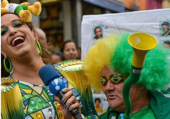 Dünya Kupası'na beş kala Brezilya