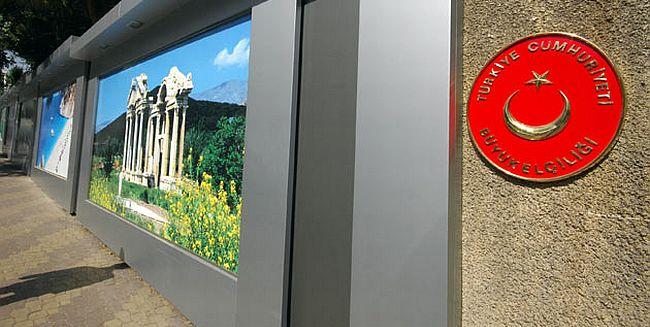 Türkiye Şam Büyükelçiliği kapatıldı