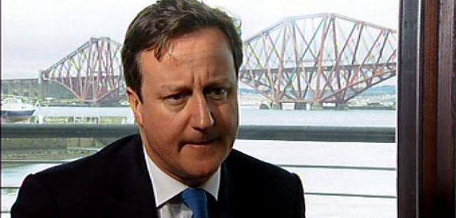 Cameron İskoçya'nın bağımsızlığına karşı ulusal birlik mesajı verdi