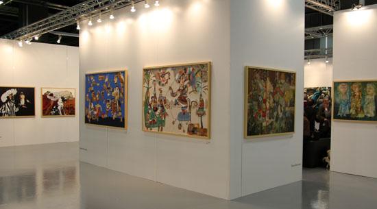Çağdaş sanat fuarında 'Ermenistan'dan Sanat' izleri