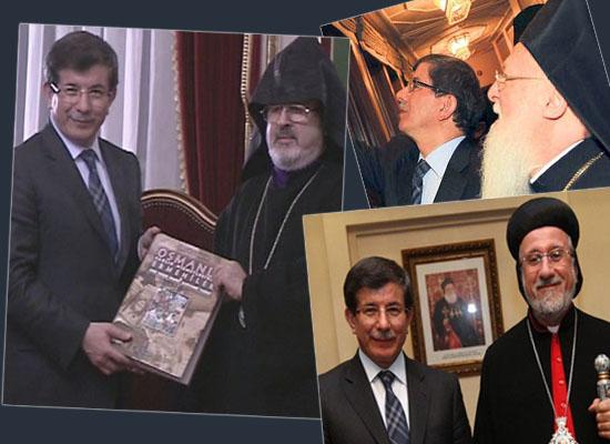 Davutoğlu'ndan cemaat liderlerine ziyaret