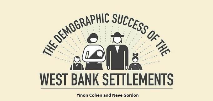 İsrail'in Yerleşim Projesinin Demografik Başarısı