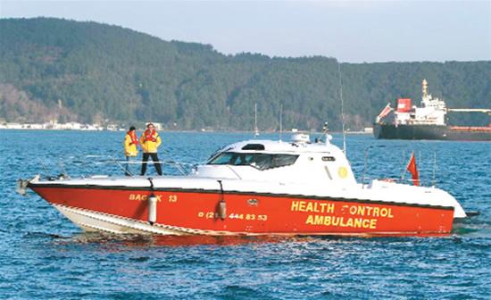 Deniz ambulansı neden Sarıyer'deydi?