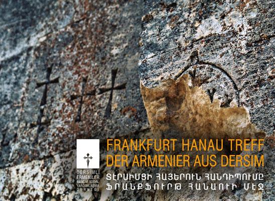 """Dersim Ermenileri """"Yüzleşme"""" üzerine çalışacak"""