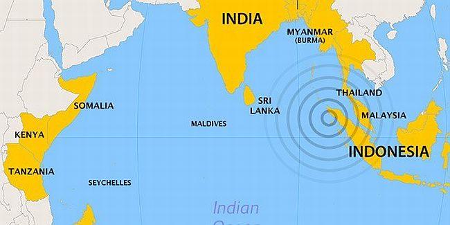 Endonezya'da 8,7 büyüklüğünde deprem oldu