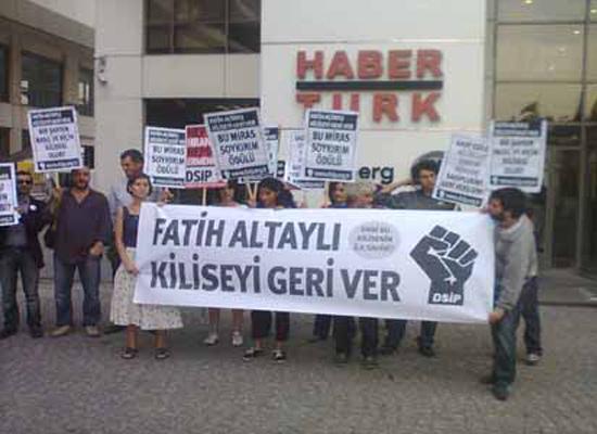 DSİP, Fatih Altaylı'dan Ermeni kilisesini geri istedi