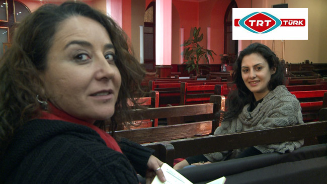 TRT Türk kameralarını Ermenistanlı göçmen işçilere çevirdi