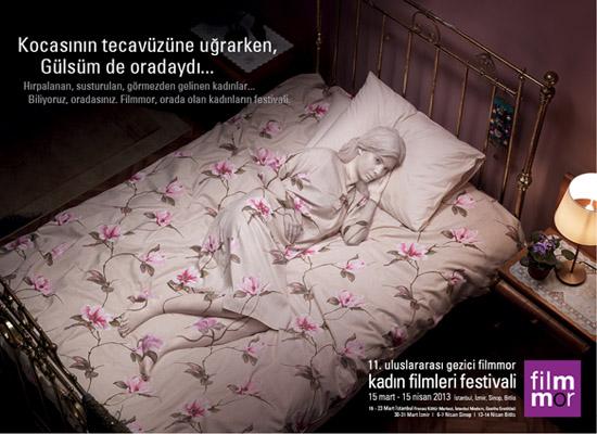 Gezici Filmmor Kadın Filmleri Festivali 15 Mart'ta başlıyor