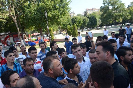 Gaziantep'te 'Suriyelileri istemiyoruz' eylemi