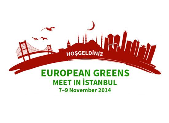 Avrupa Yeşilleri'nin 21. Kongresi İstanbul'da