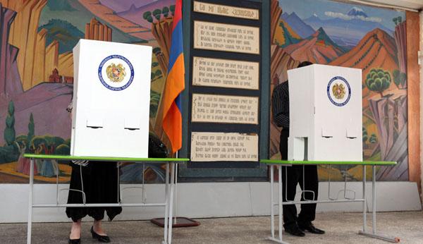 Ermenistan'da organize işler