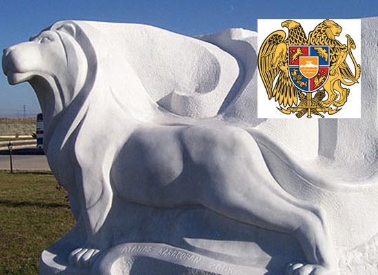 Ermenistan armasına benzeyen heykelin sahibi kendisini savundu