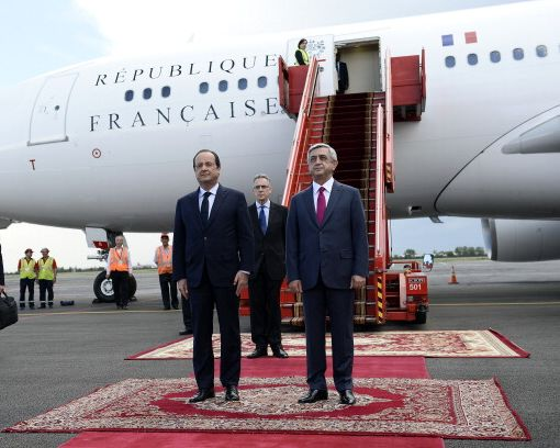 Hollande Yerevan'da