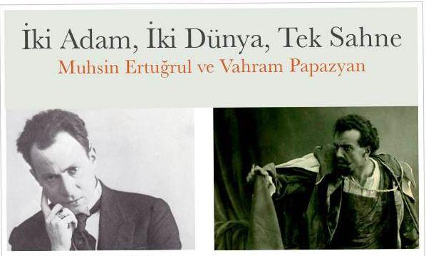 İki dost, Vahram Papazyan ve Muhsin Ertuğrul tekrar bir arada