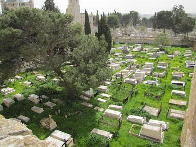 Kudüs'teki Ermeni mezarlığına saldırı