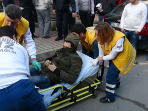 Kağıthane'de silahlı çatışma: 3 yaralı