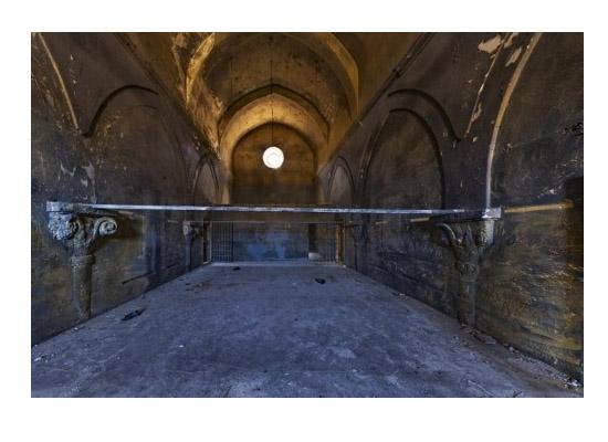 Dizi çekiminde kilisesinin kirişleri kesildi iddiası
