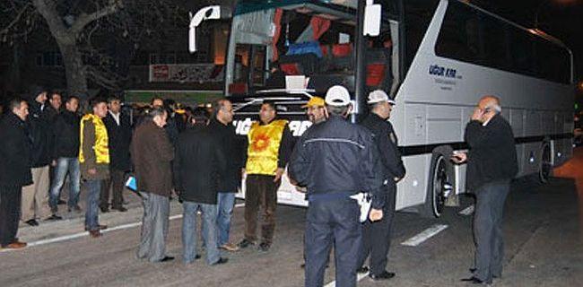 KESK 4+4+4 protestosu için Ankara'ya ulaşamadı...