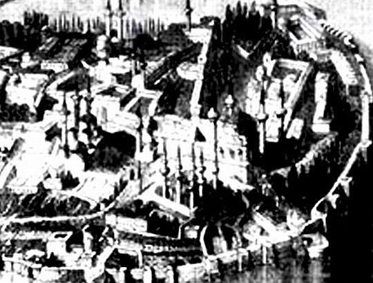 Büyük Bizans Sarayı için duyuru