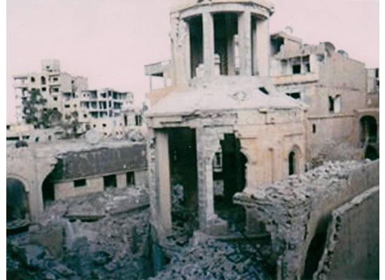 Der Zor'da kiliseyle birlikte soykırım belgeleri de yok oldu