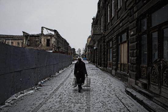 Depremden 23 yıl sonra Gümrü'deki hayatı fotoğrafladı