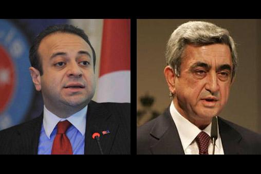 Başmüzakereci Bağış, Sarkisyan'ın sözlerini çarpıttı