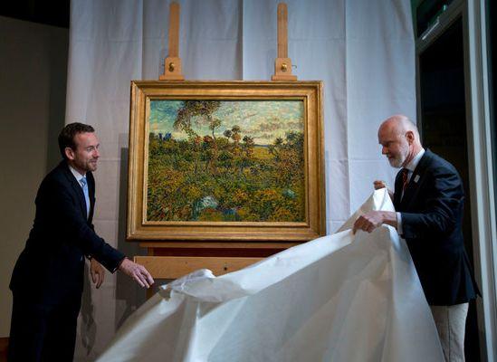 Van Gogh'un kayıp resmi çatıdaymış!
