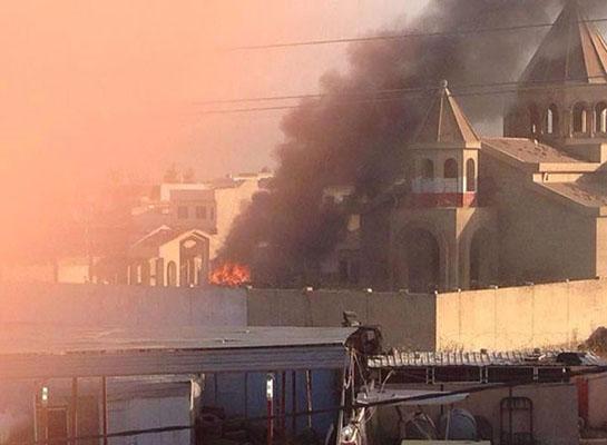 Musul'daki Ermeni Kilisesi bombalandı