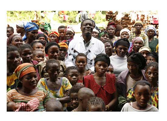 Sakharov ödülü Denis Mukwege'nin
