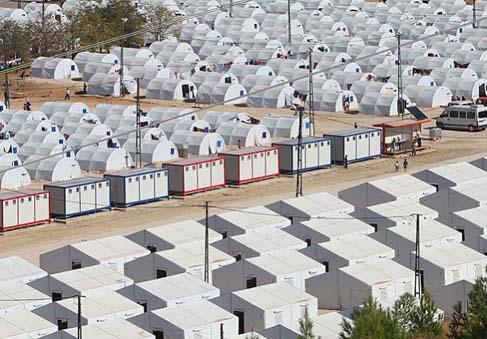 Suriyeli mülteci kadına kampta tecavüz
