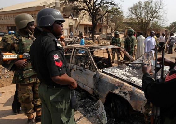 Nijerya'daki Noel kana bulandı