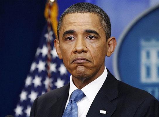 Obama'nın zor günleri