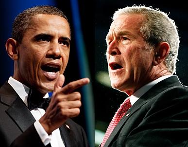 Obama'nın rakipleri Bush'u aratmıyor