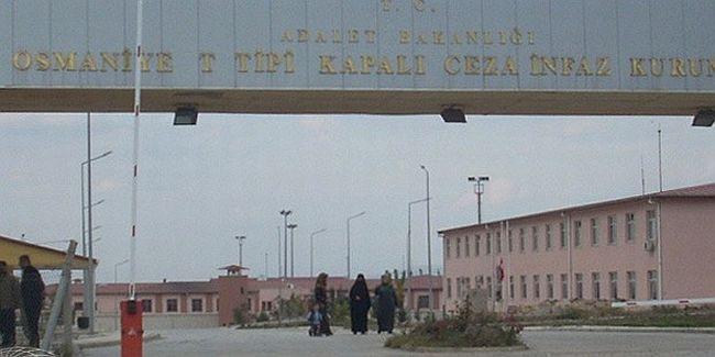 Osmaniye Cezaevi'nde çıplak arama