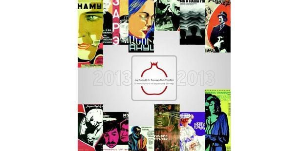 """Ermeni Kültür'ün, """"Ermenistan Filmleri"""" temalı 2013 takvimi çıktı"""