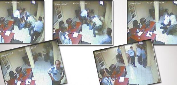 Karakolda polis şiddetinin görüntüleri ortaya çıktı