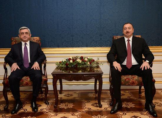 Sarkisyan-Aliyev Paris'te buluşacak