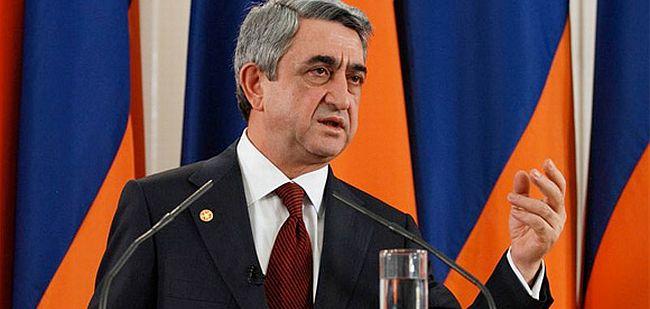 Sarkisyan Azerbaycan'ın nefret söylemini kınadı