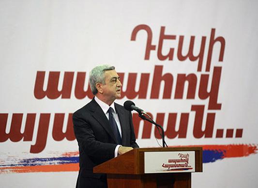Sarkisyan'ın soykırım açılımı diasporada tepkiyle karşılandı