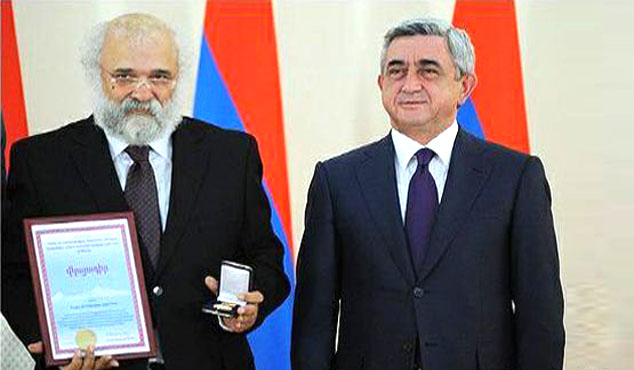 Yargılanmasına devam edilen Zarakolu'na Ermenistan'dan ödül