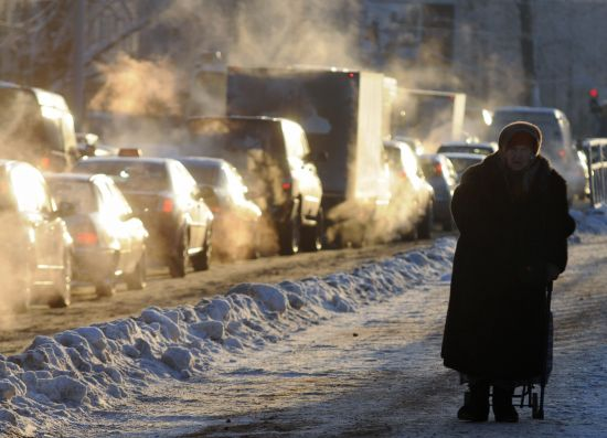 Rusya'da son 50 yılın en soğuk kışı yaşanıyor