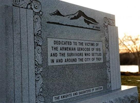 Michigan'da Soykırım anıtı açıldı