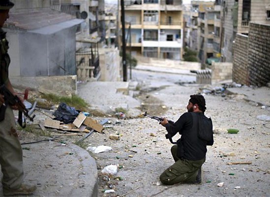 Suriye ajansına göre isyancılar kimyasal silah kullandı