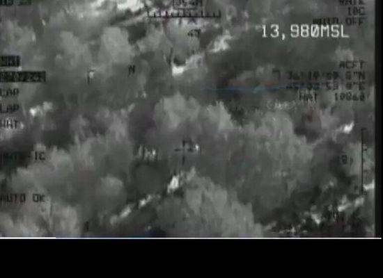 Uludere'de heron görüntüleri ve bombardıman emri