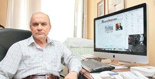 Mihail Vasiliadis 54 yıl sonra öğrenciliğe geri döndü