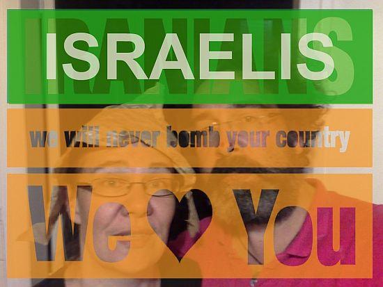 İsraillilerin barış çağrısına İran'dan destek: 'Biz de sizi seviyoruz'